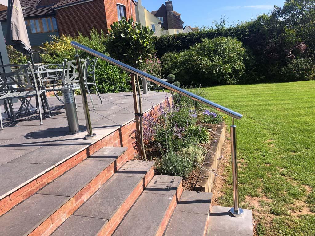 steel handrail